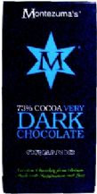 Montezuma's - Organic Very Dark Chocolate (73%) 90g